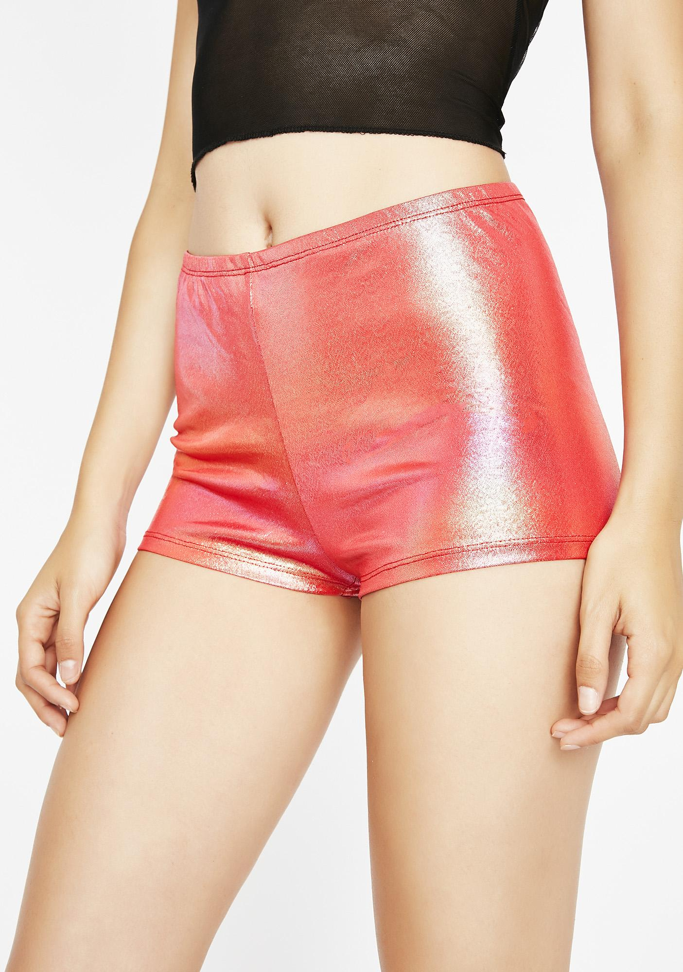 Flame Feel The Bass Hot Shorts