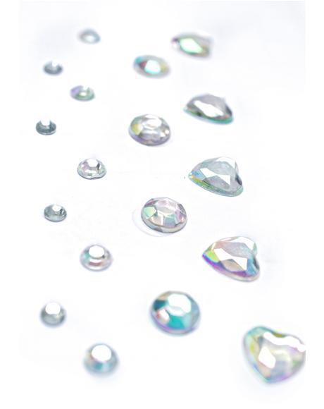 Iridescent Electra Face Jewels