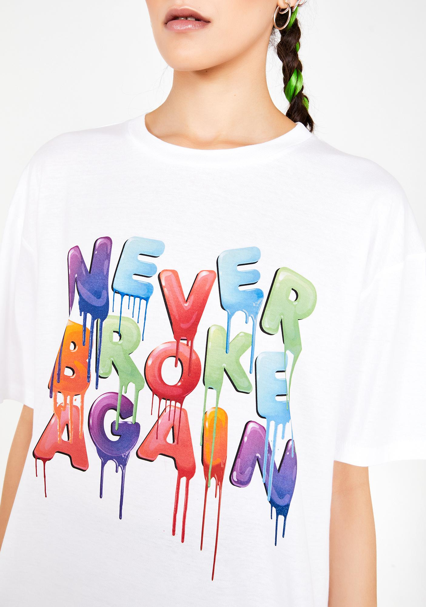 Never Broke Again Colors T-Shirt