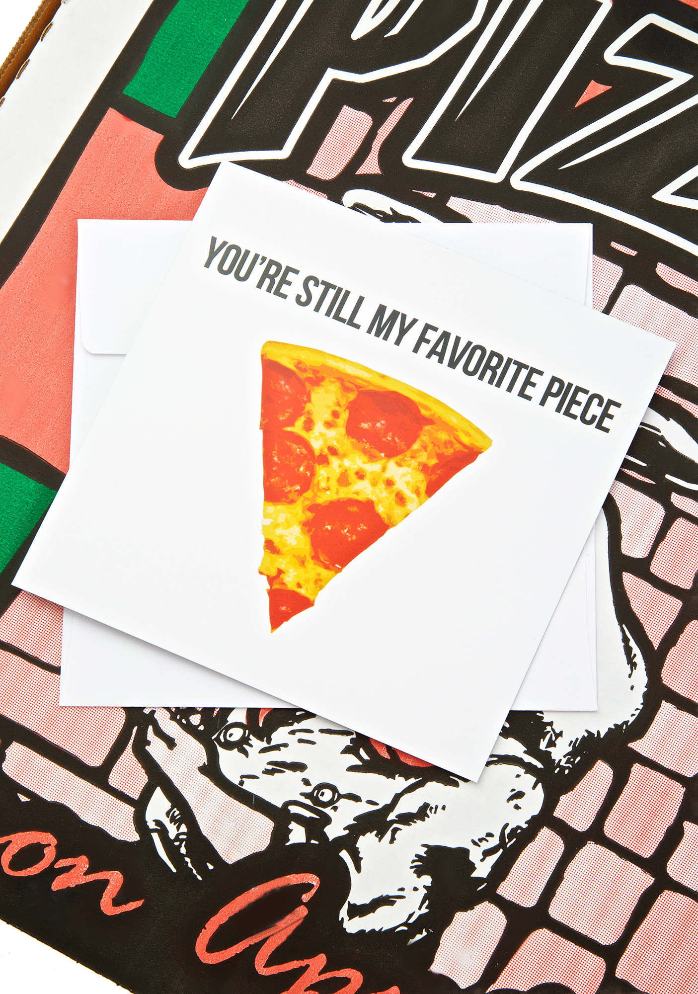 Hot Piece Pizza Card