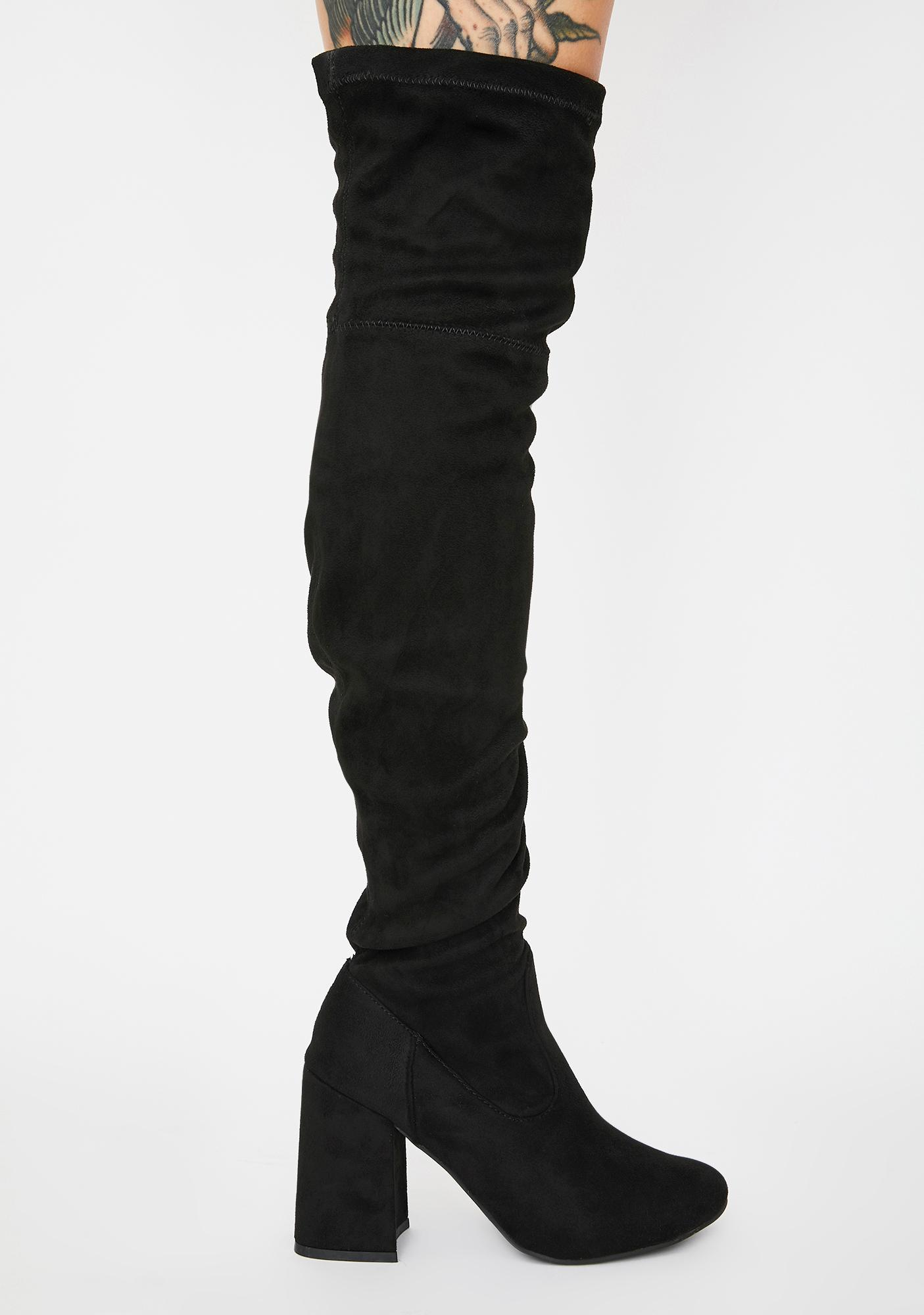 Baddie Bae Thigh High Boots