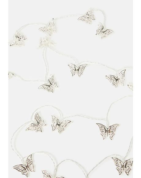 Fly Away With Me Butterfly String Lights