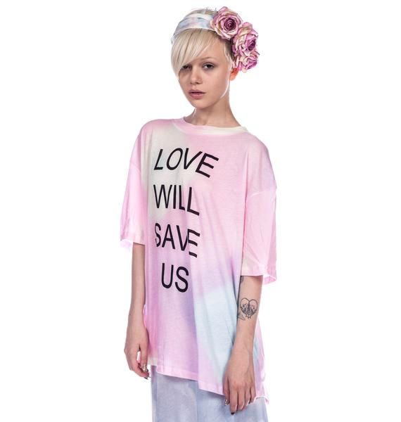 Wildfox Couture Love Will Save Us Cobain Tee