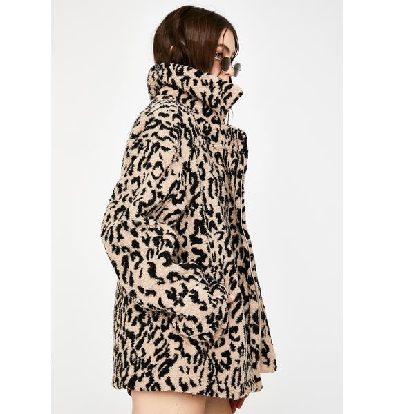 Seven Wonders Let's Go Wild Leopard Jacket