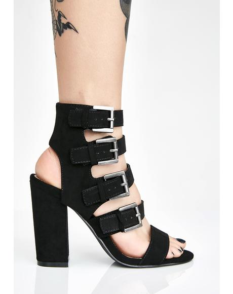 Groove Tonight Buckle Heels
