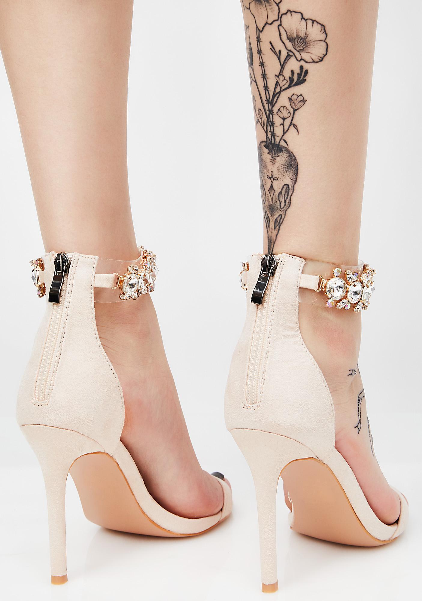 3cd5bfec448b ... Public Desire Fiji Crystal Ankle Strap Heel