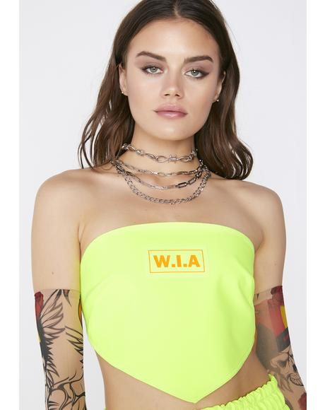 Triangle Neon Top