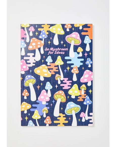 So Mushroom For Ideas Notebook
