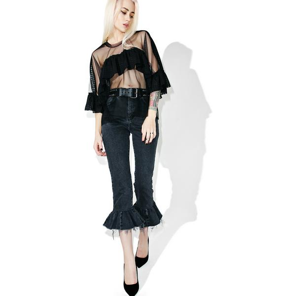 The Ragged Priest Midnight Top