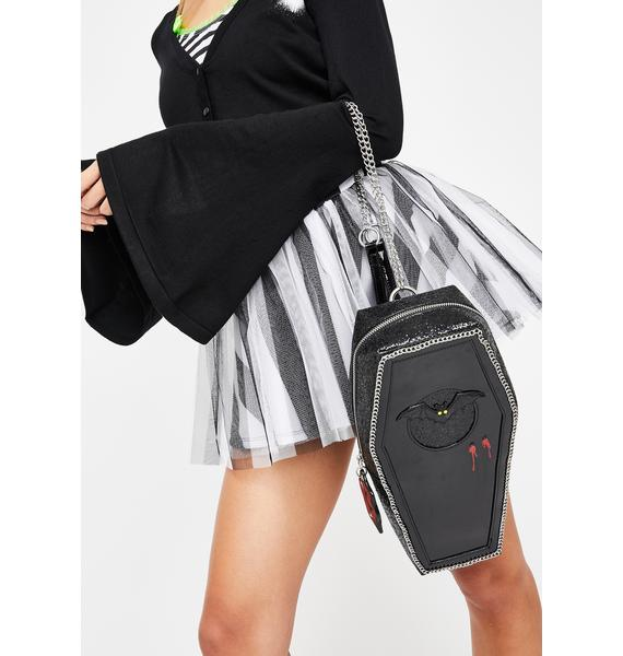Betsey Johnson Can't Stop Coffin Backpack