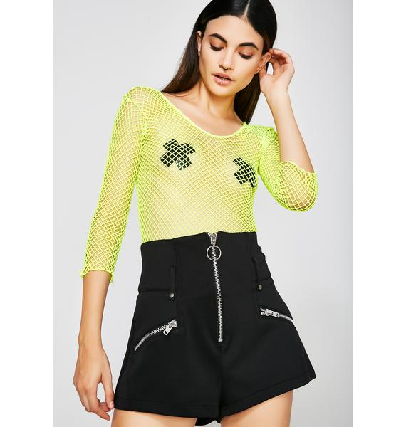 Layin' Low Zip-Up Shorts