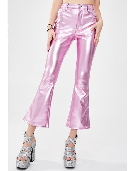 Made Of Dreams Metallic Pants