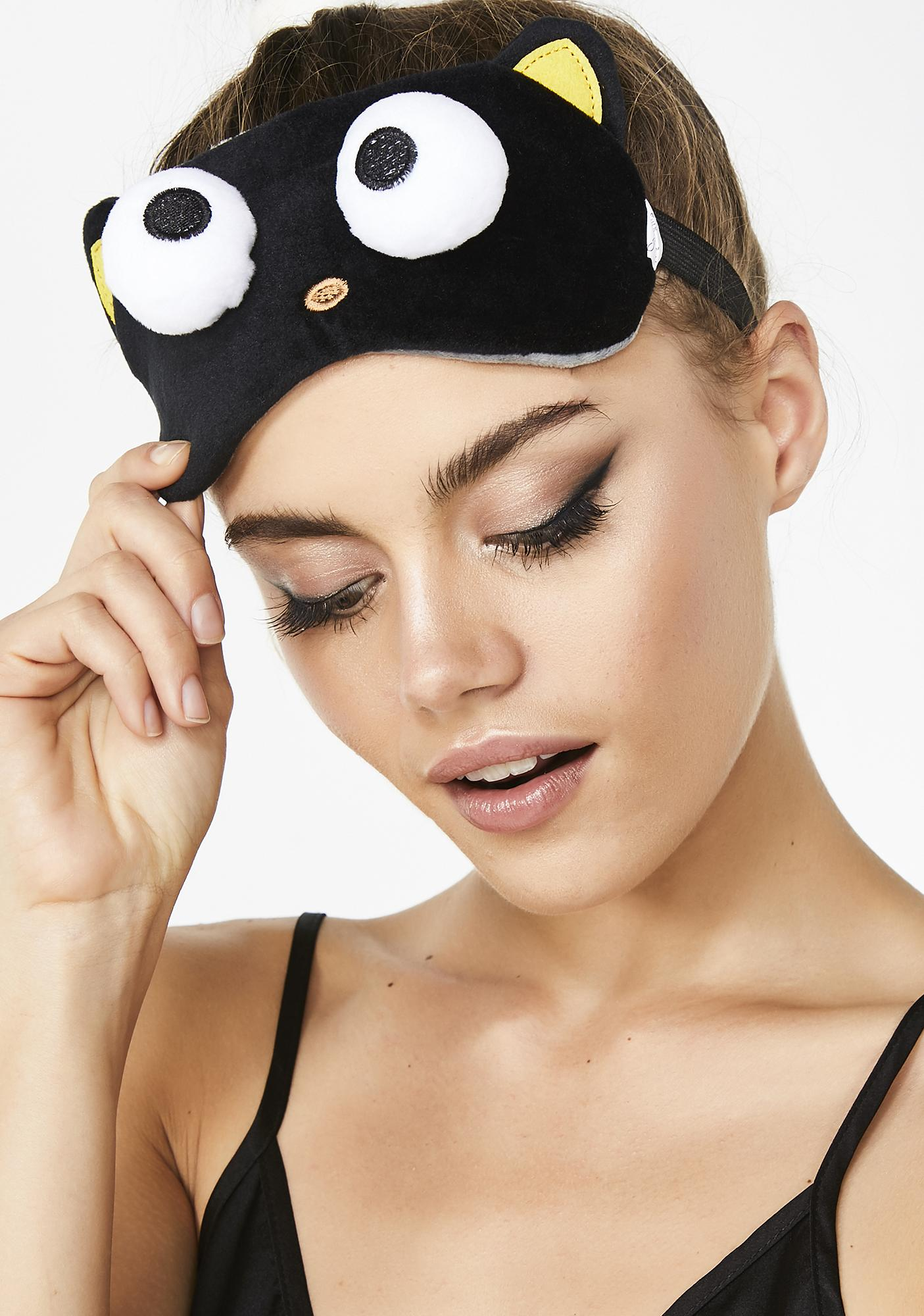 The Crème Shop Chococat Plushie Sleep Mask