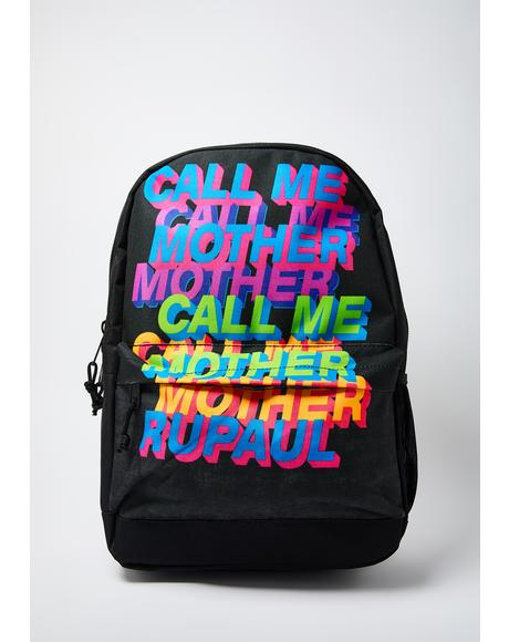 Rupaul Call Me Mother Classic Backpack