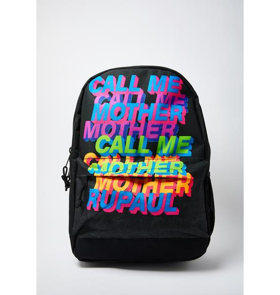 Rocksax Rupaul Call Me Mother Classic Backpack