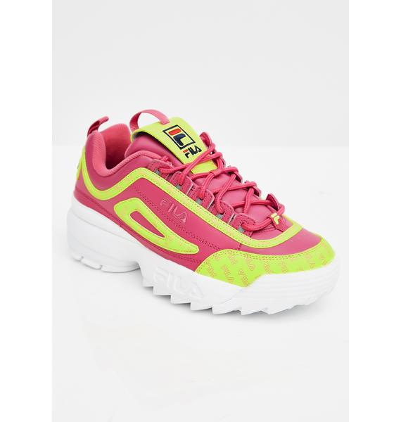 Fila Candy Disruptor II Multiflag Sneakers