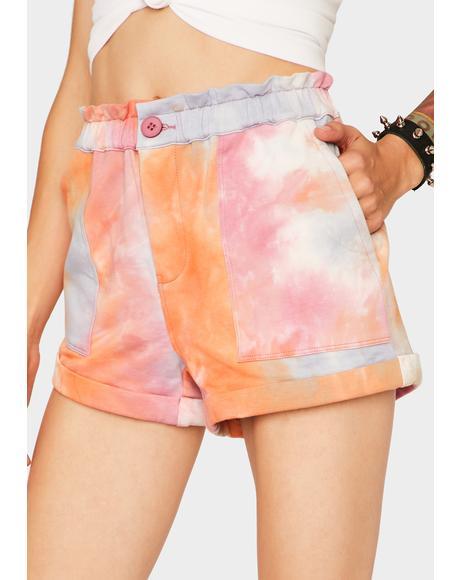 Sweet Spot Tie Dye Shorts