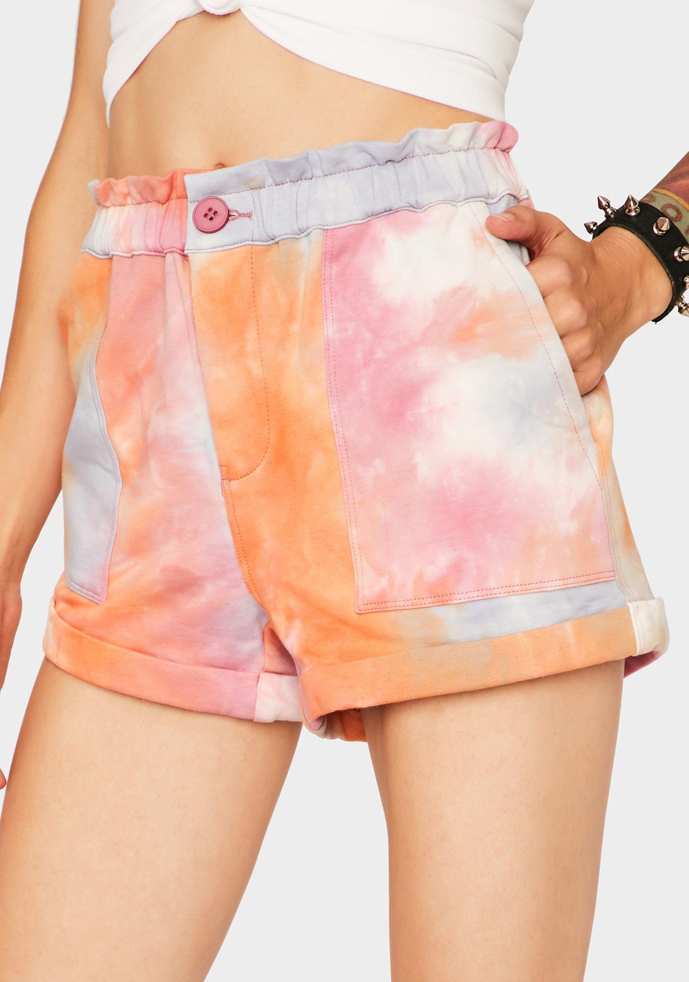 Blank NYC Sweet Spot Tie Dye Shorts