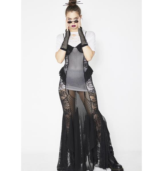 Kiki Riki Haute Seductress Sheer Dress