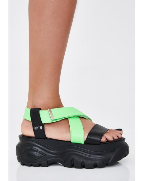 OG Kush Platform Sandals