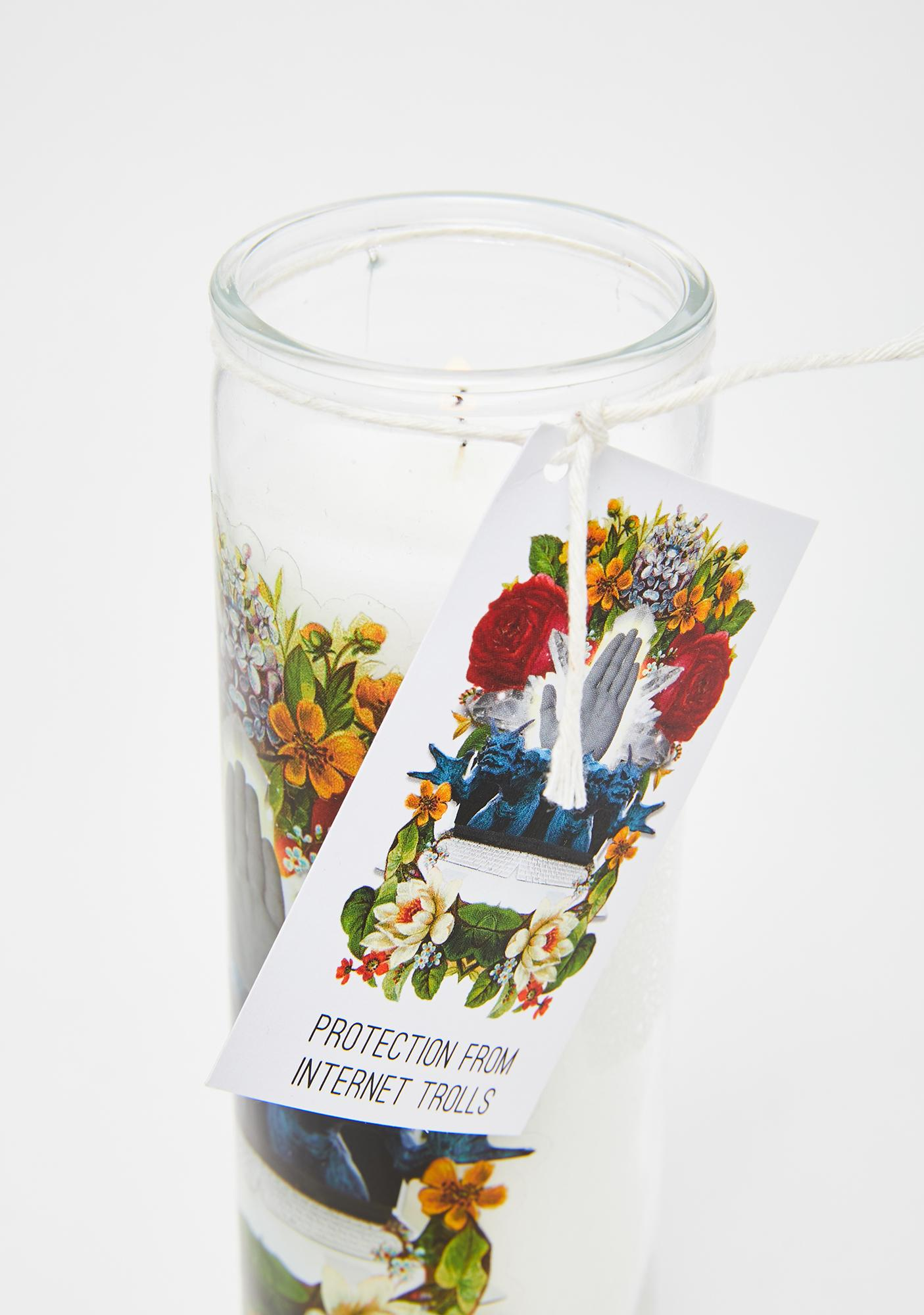 Last Craft Protection From Internet Trolls Spell Candle