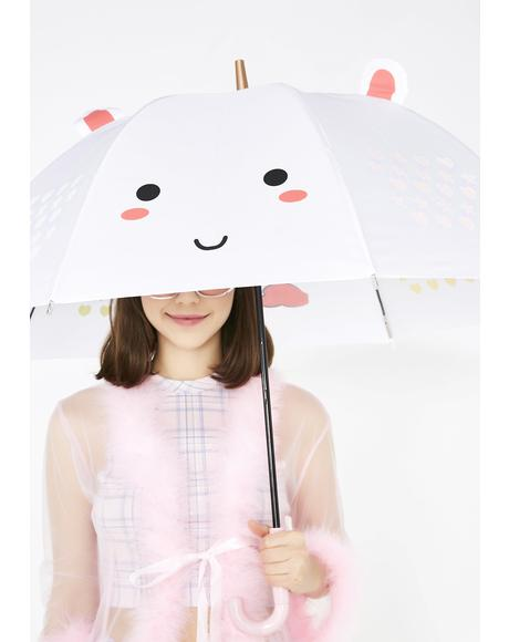Elodie Unicorn Color Changing LED Umbrella