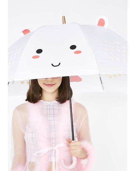 Elodie Unicorn Color Changing LED Umbrella