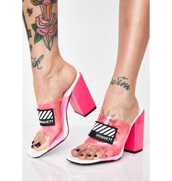 Serve Lewks PVC Heels