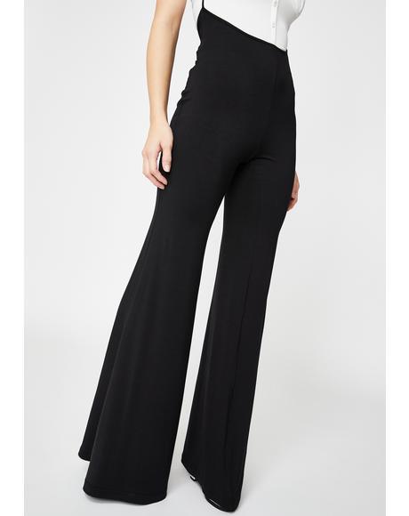 Suspender Wide Pants