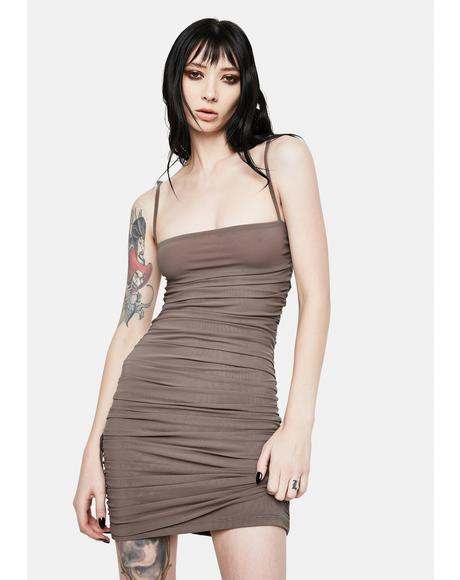Stone Cold Cut Out Cami Dress