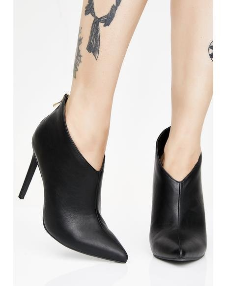 To The Point Ankle Booties