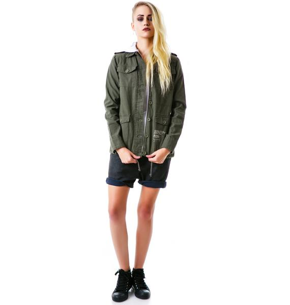 Glamour Kills Stand Attention Surplus Jacket