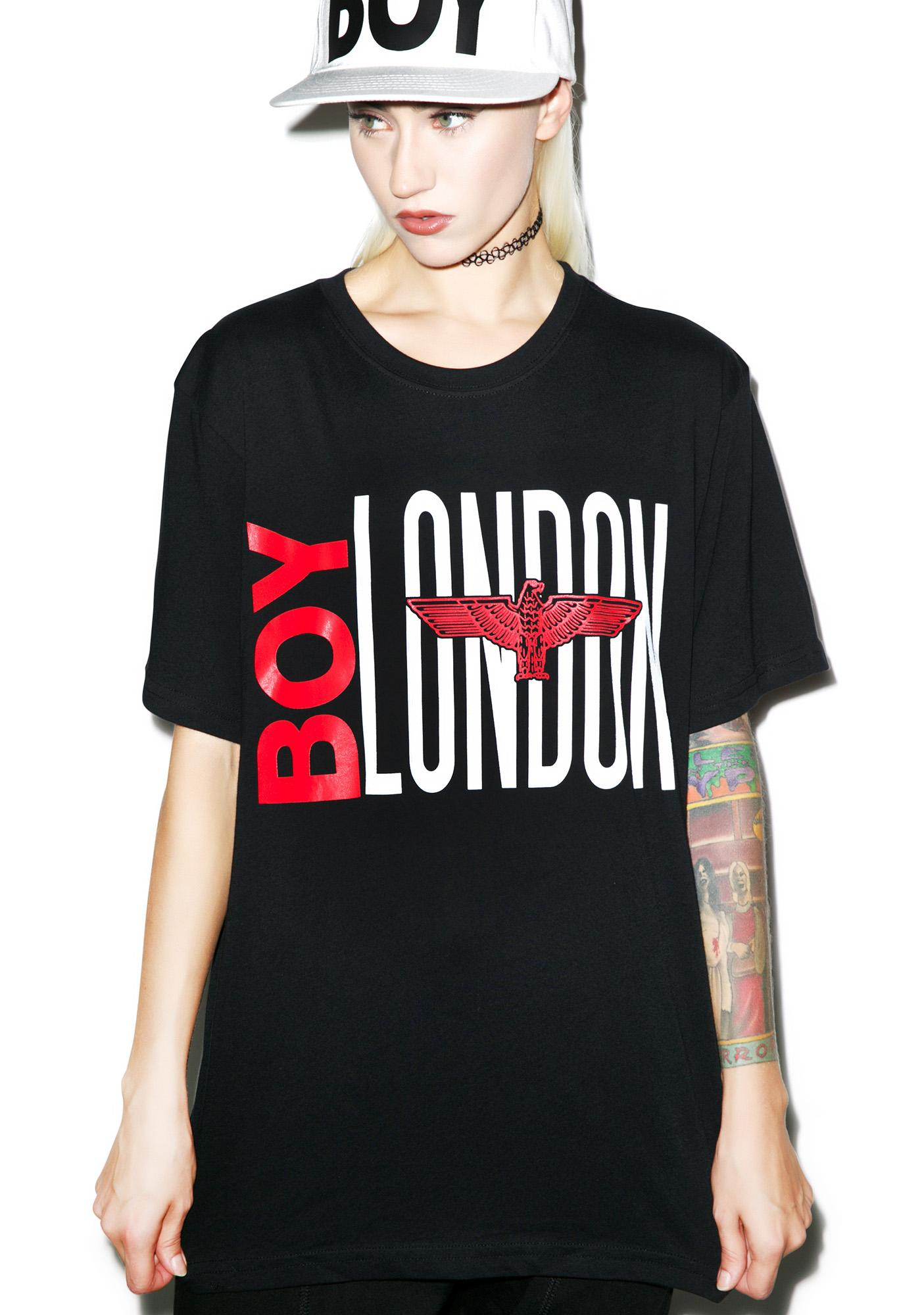 BOY London Red Eagle Tee