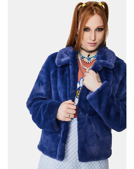 Icon Faux Fur Jacket