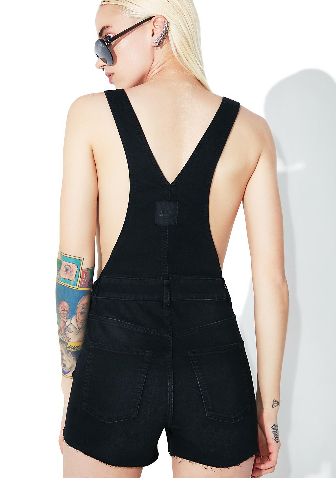 Cheap Monday Black Sin Overalls
