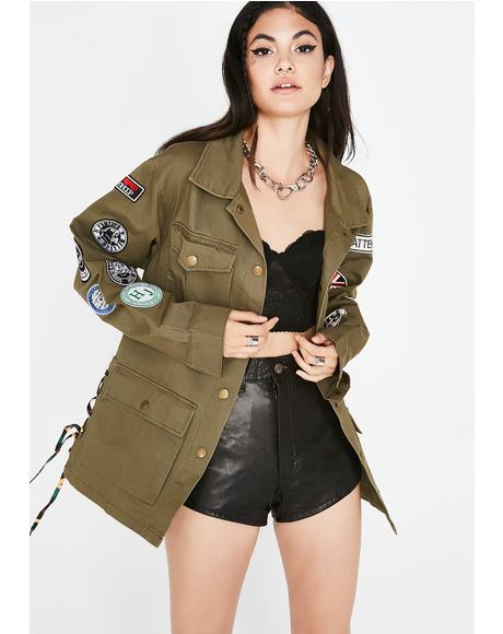 Not Subordinate Military Jacket