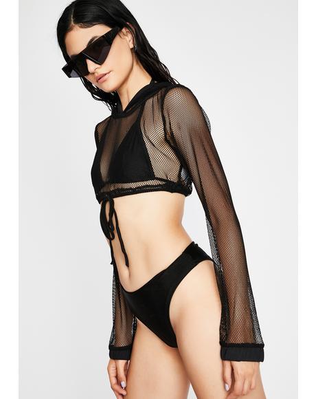 Dancehall Dominatrix Swimsuit Set