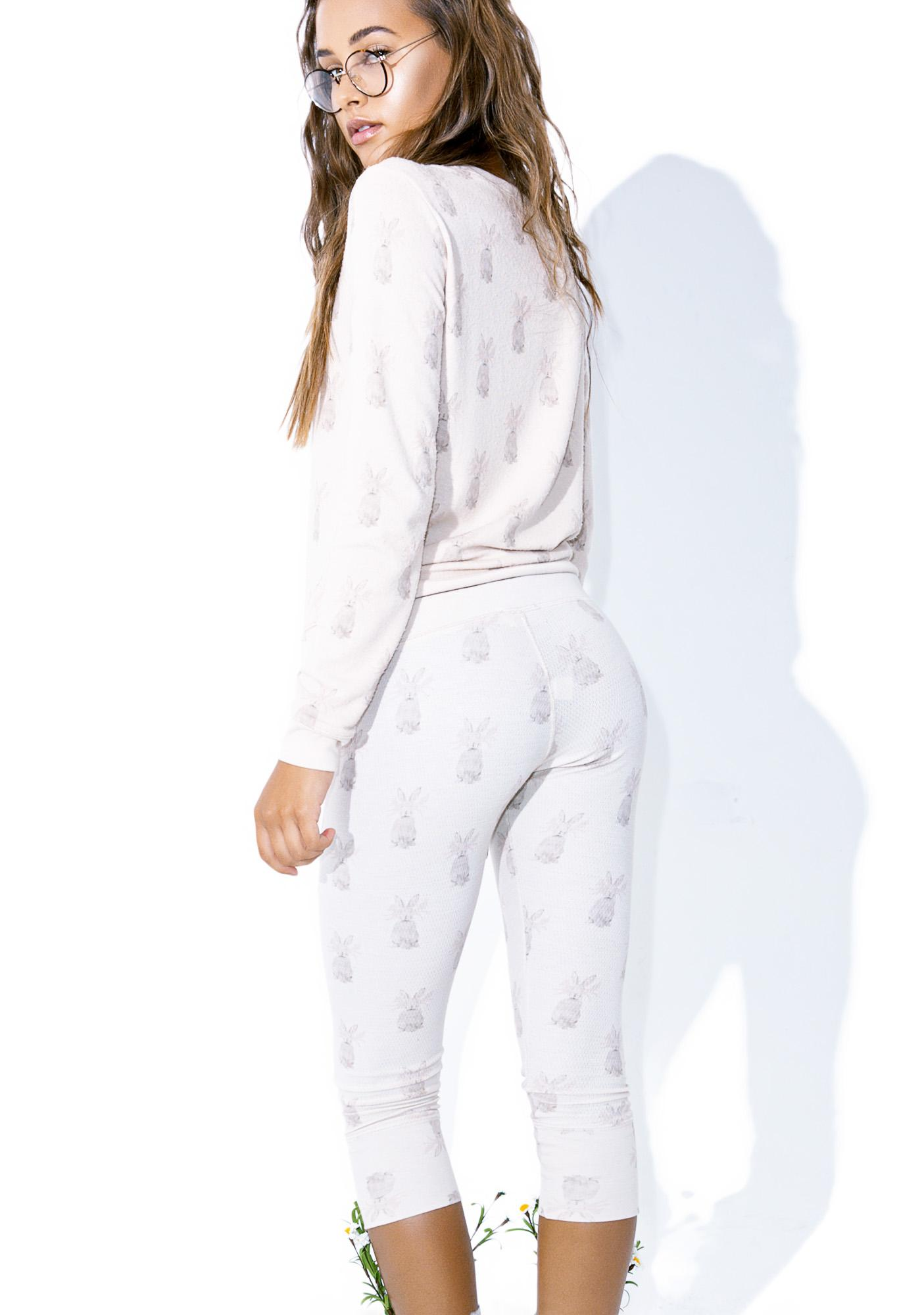 All Things Fabulous Rabbit Thermal Pants