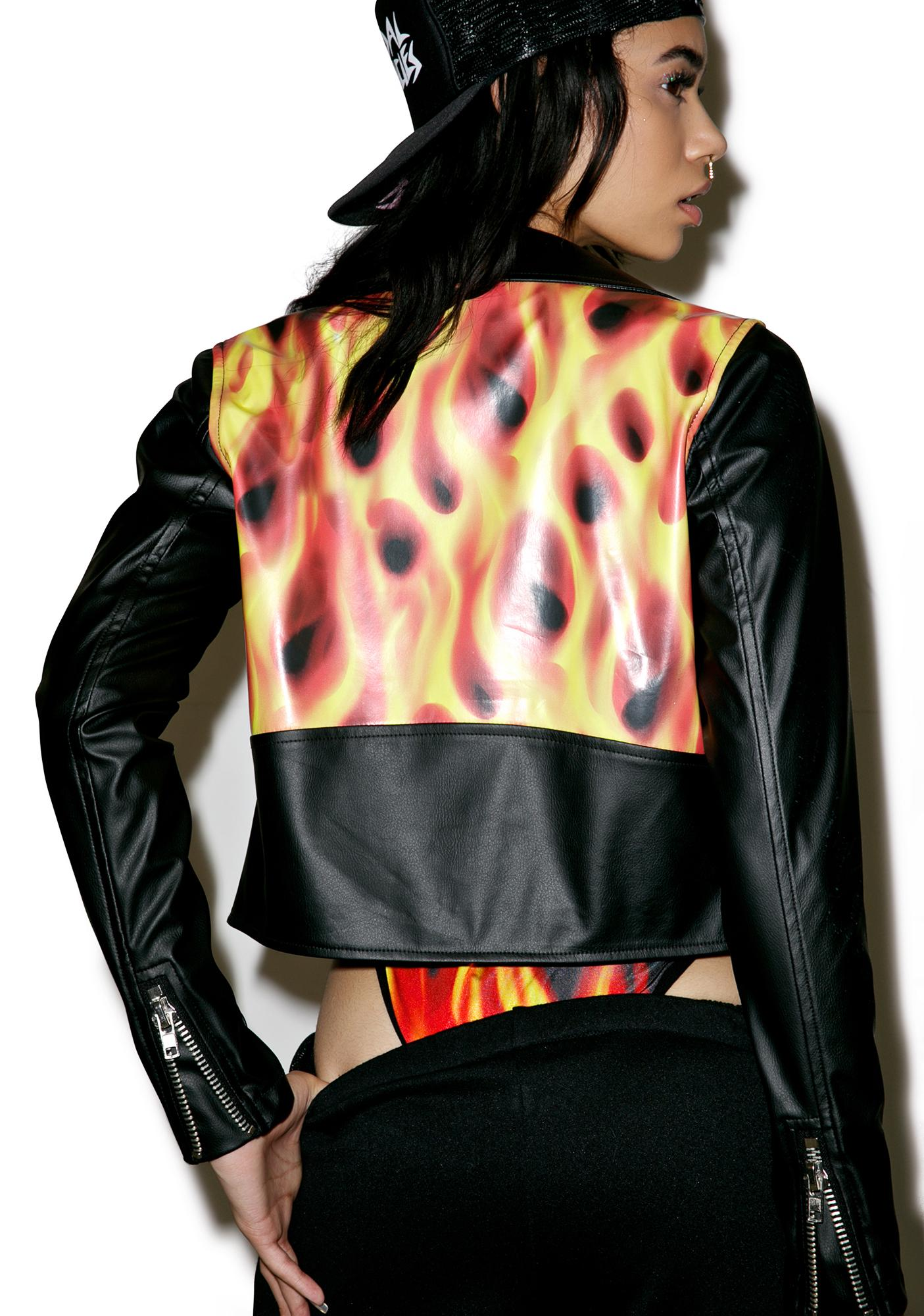 24HRS Flamin' Hot Moto Jacket
