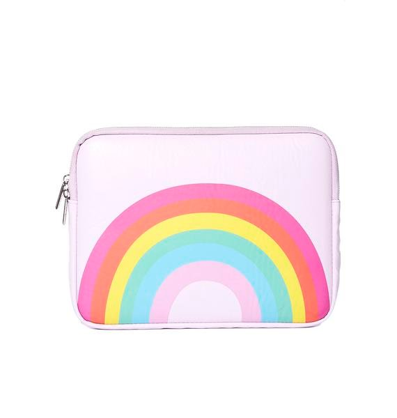 Skinnydip Over The Rainbow Laptop Case