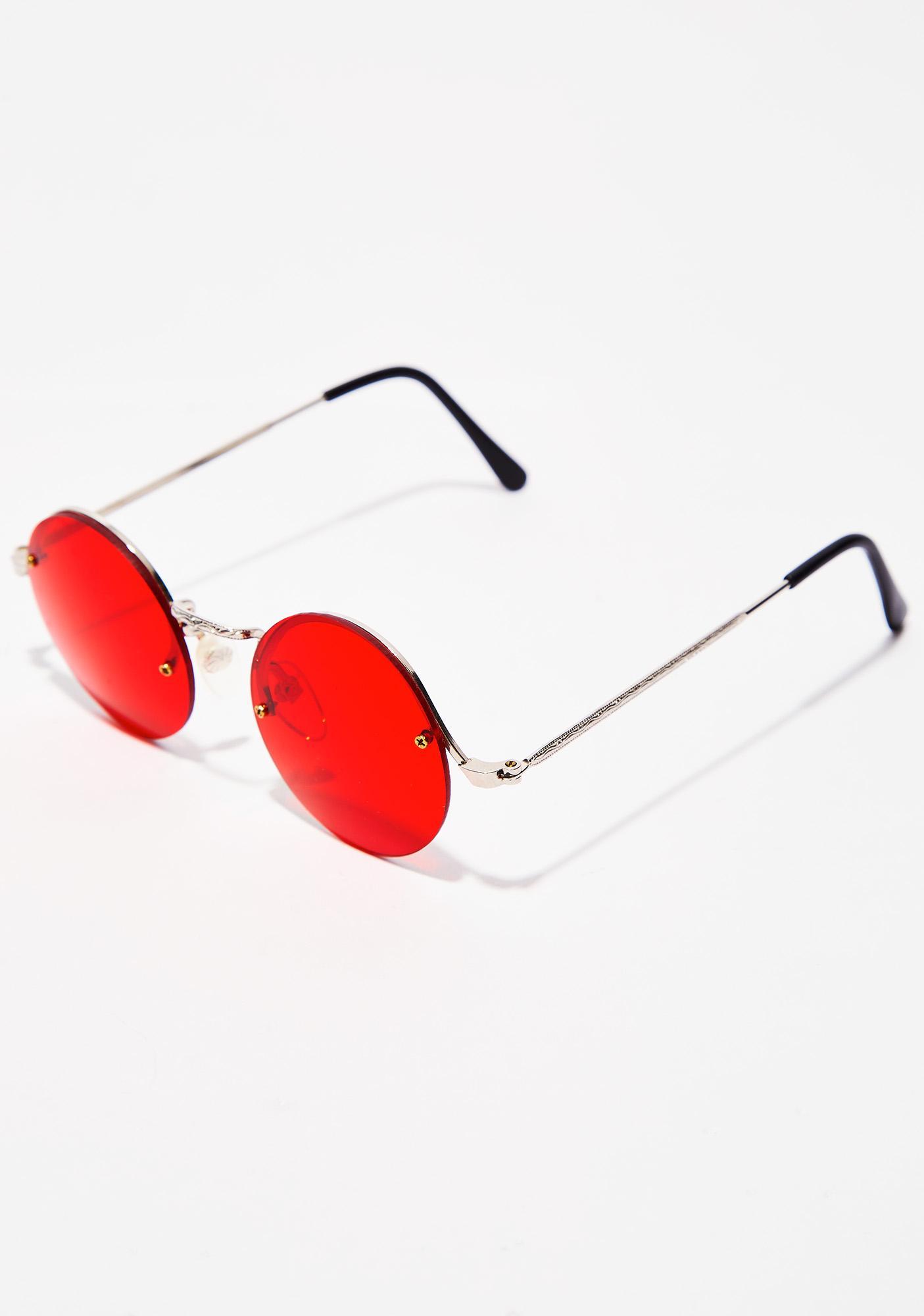 Groovy Gal Round Sunglasses