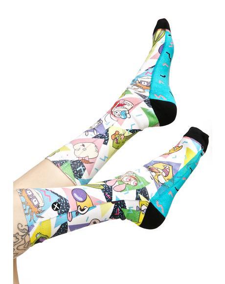 Nick 90s Socks