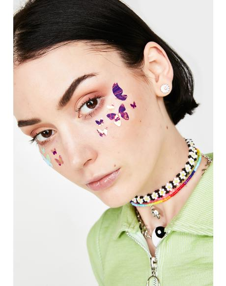 Butterfly Body N' Face Stickers