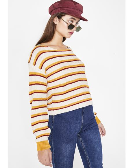 Honey Bunny Stripe Sweater