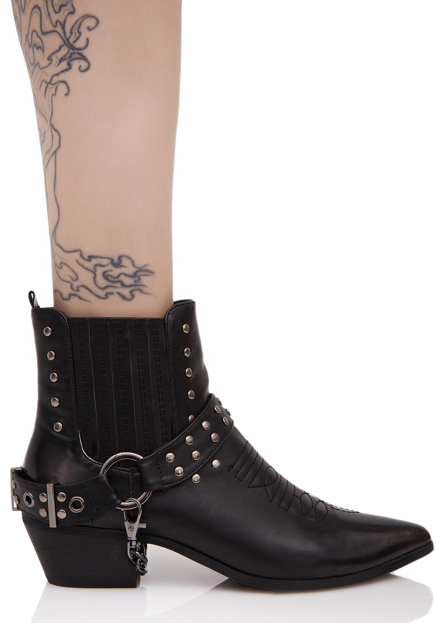 Gunslinger Ankle Boots