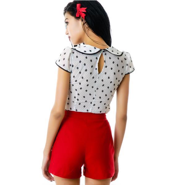 Ruby High Waisted Shorts