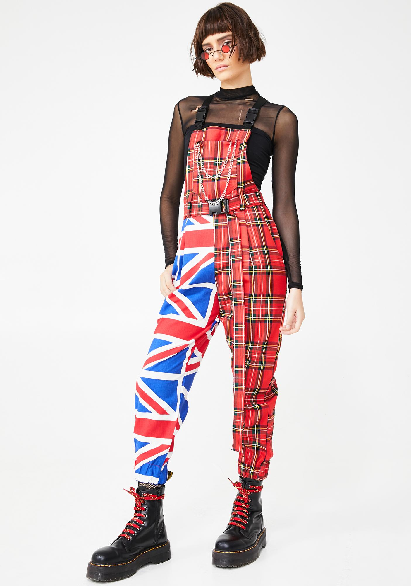 LOVE TOO TRUE The Anarchy Dungarees