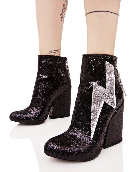 Ziggy Sparkle Lightning Boots