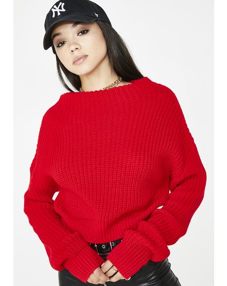 Work Bish Knit Sweater