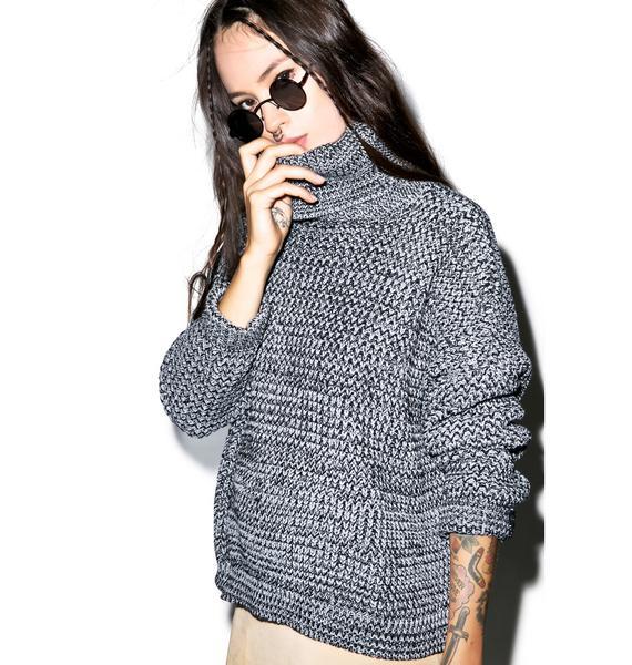Glamorous So Heated Turtleneck Sweater